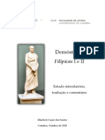 Demóstenes - I e II Filípicas (Dissertação)