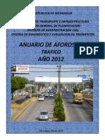 Anuario de Tráfico  2012