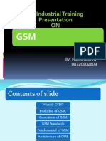 Finalised GSM Overview
