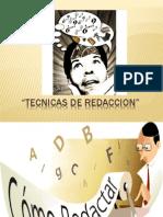 Tecnicas de Redaccion
