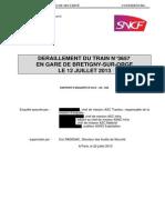 Rapport Bretigny Deraillement Train n3657 12juillet2013