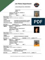 public arrest report for 9232013