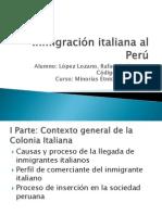 Inmigración italiana al Perú