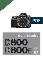 Manual Nikon D800E Guia Tecnico PT BR