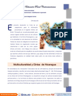 Etnias de La Region Del Pacifico Nicaragua