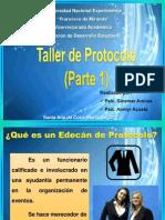 Curso Protocolo I