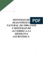 SISTEMAS DE DIAGNOSTICO AYURVÉDICO