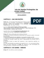 Regulamento Festival de Sambas Enredos Da Protegidos (1)