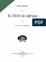 Algunas Reflexiones Sobre El Juicio de Amparo - Mexico