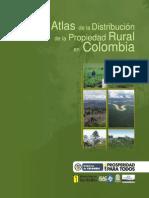 Atlas de La Distribucion de La Propiedad Rural Colombia