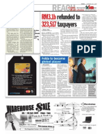 TheSun 2009-07-02 Page02 Rm3.1b Refunded to 323517 Taxpayers