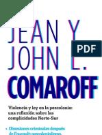J. Comaroff - J. L. Comaroff. Violencia y ley en la poscolonia (fragmento)