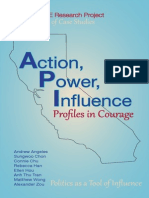 """Action, Power, Influence"