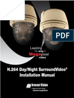 SPE H.264DayNightSurroundVideoInstallationManual2010.12.13 Final SPANISH