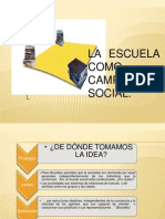 TEORÍA DEL CAMPO ESCOLAR