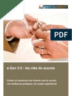 eGov 2.0 les clés du succès livre blanc Juin2009