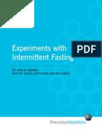 Intermittent Fasting Precision Nutrition