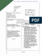 Brian Lichtenberg v. Alex & Chloe - Complaint