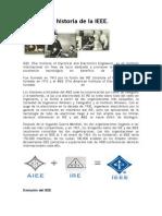 Historia de IEEE