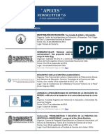 APECES - Newsletter N 6. 26-28.9.2013