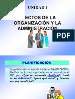 unidad I EFECTOS DE LA ORGANIZACIÓN Y LA ADMINISTRACION-1