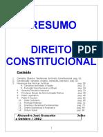 Resumo Direito Constitucional Livro 199