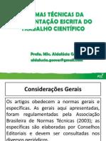 Normas Técnicas da Apresentaç¦o Escrita do Trabalho Científico_Aldalúcia Gomes.pdf