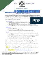 Volunteer Position Description