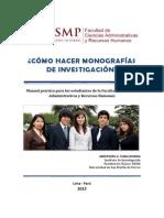 Manual Redaccion Monografias USMP. APA 6