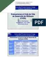 Evaluaciones Ciclo Videa Software