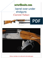 Double Barrel Over-under Shotguns Current Values