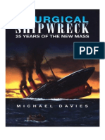 Michael Davies Liturgical Shipwreck