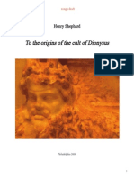 To the origin of the Cult of Dionysus (book with pictures)