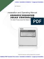 Manual Controlador Solar [SR868C8] (PT)