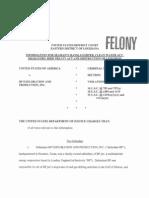 BP Exploration & Production, Inc. Felony Information