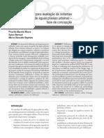 Metodologia para avaliação de sistemas de infiltração de águas pluviais urbanas