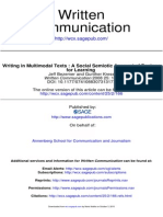 Kress - Writing in Multimodal Texts