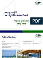 Eco Reef Project Overview 2009