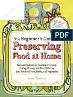 The Beginner's Guide to Preserving Food at Home (sample pages)