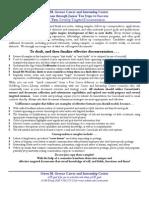 Undergraduate Resume Examples