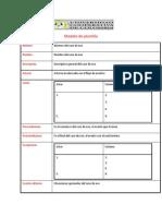 Modelo de Plantilla - CU