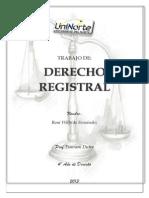 Historia Del Derecho Registral