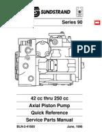 Parts Catalog, Series 90 Pump