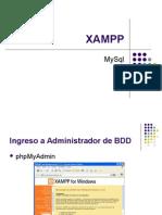 XAMPP Trabajo Con MySQL