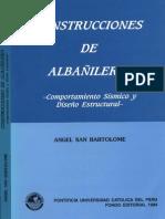 CONSTRUCCIONES EN ALBAÑILERIA ANGEL SAN BARTOLOME