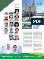 União de Freguesias de S. Manços e S. Vicente do Pigeiro – Programa Eleitoral
