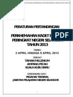 Pindaan Format Peraturan Pertandingan Perkhemahan n Sgor 2013