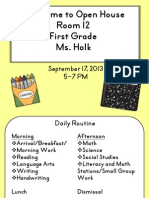 Open House Powerpoint 2