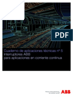 Cuaderno Tecnico 5_ Interruptores Aplicaciones en CC ABB