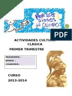 Cuaderno Primer Trimestre 2013-14